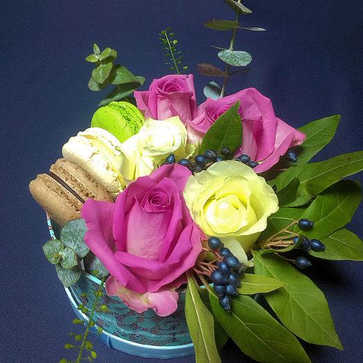 Утренняя нежность (Коробочка 232): букеты цветов на заказ Flowwow
