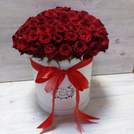 Бордовый шар: букеты цветов на заказ Flowwow