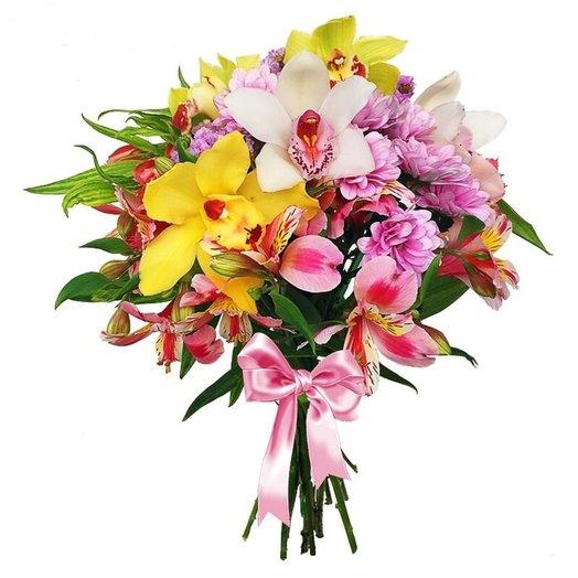 Орхидеи для любимой: букеты цветов на заказ Flowwow