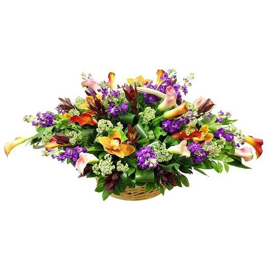 Корзина Эпика (большая): букеты цветов на заказ Flowwow