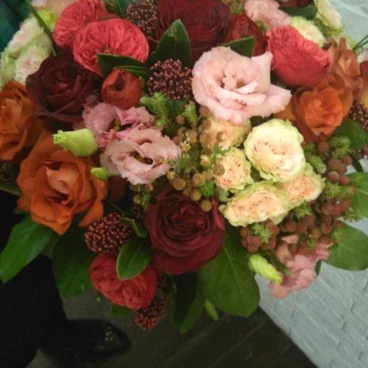 Счастливы вместе: букеты цветов на заказ Flowwow