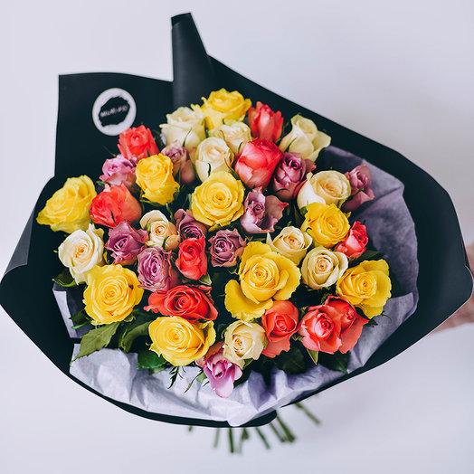 Розы кенийские: букеты цветов на заказ Flowwow