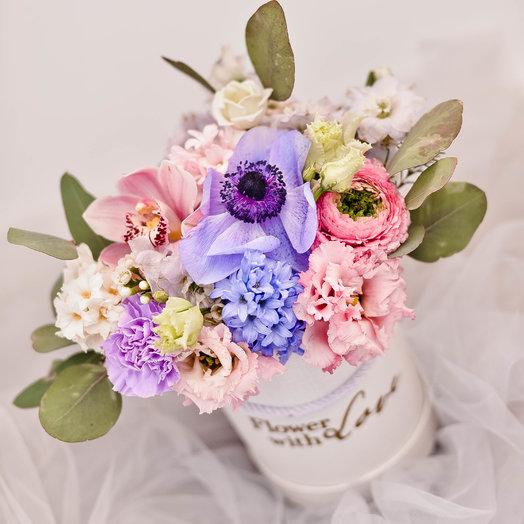 Нежная коробочка : букеты цветов на заказ Flowwow