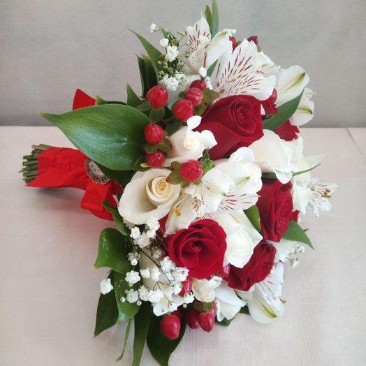 """Свадебный букет """"Грация"""": букеты цветов на заказ Flowwow"""