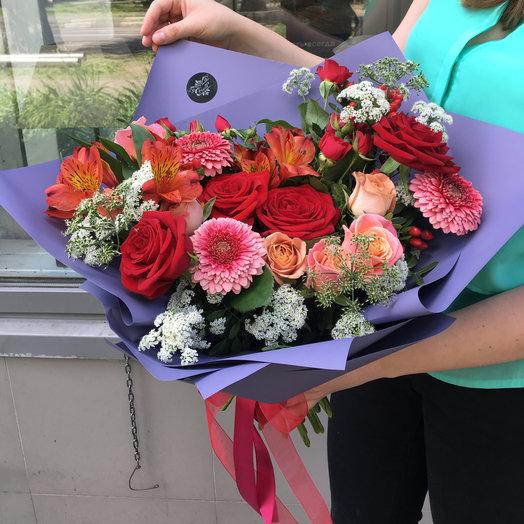 Краски лета : букеты цветов на заказ Flowwow