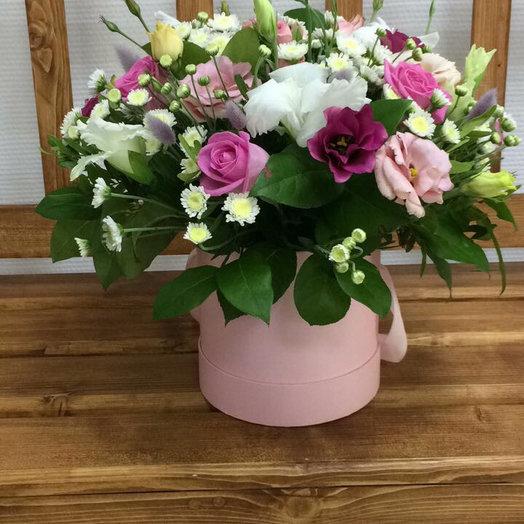 Шляпная коробка для особенных: букеты цветов на заказ Flowwow