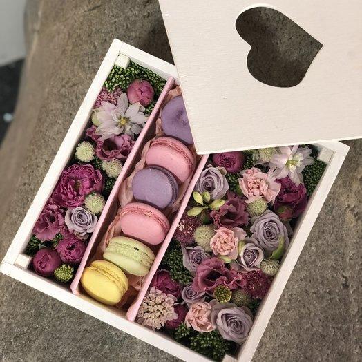 Цветы и сласти: букеты цветов на заказ Flowwow