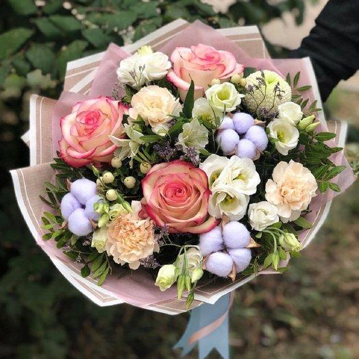 Родному человеку - Сборный букет: букеты цветов на заказ Flowwow