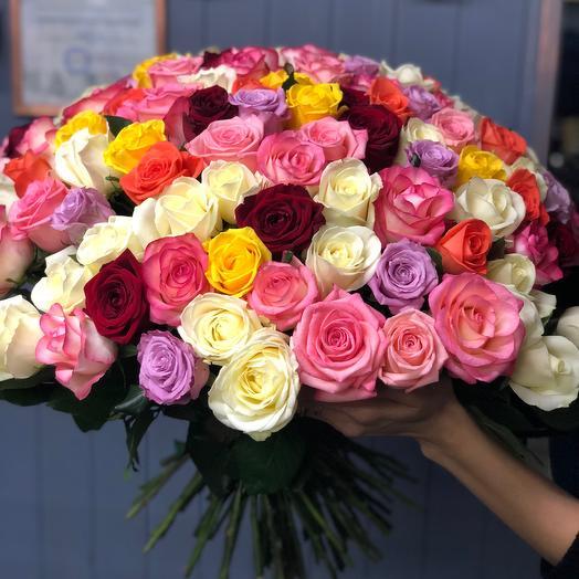 Радужный бум: букеты цветов на заказ Flowwow