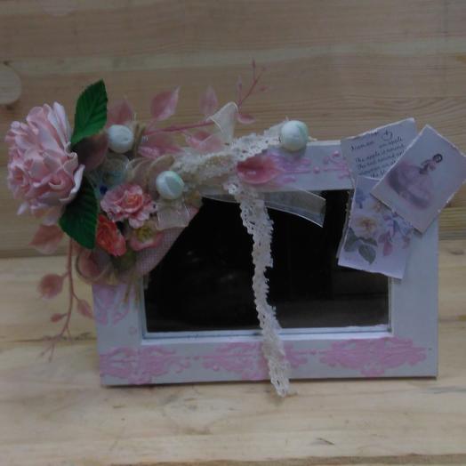 Зеркальце для милой и самой нежной: букеты цветов на заказ Flowwow
