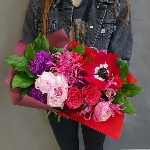 Яркие тропики: букеты цветов на заказ Flowwow