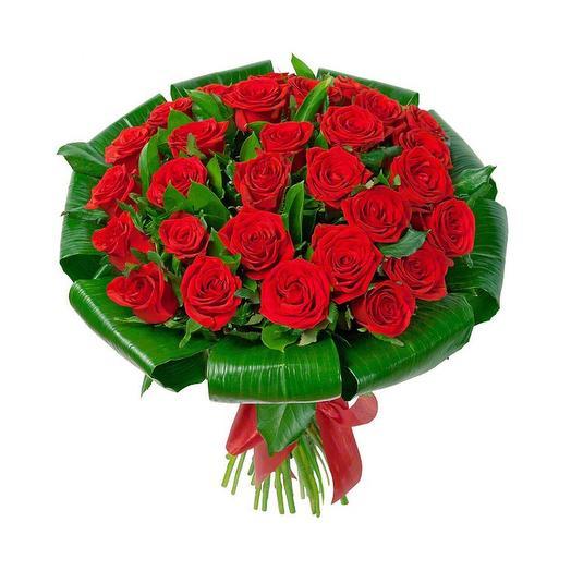 Роза красная 29: букеты цветов на заказ Flowwow