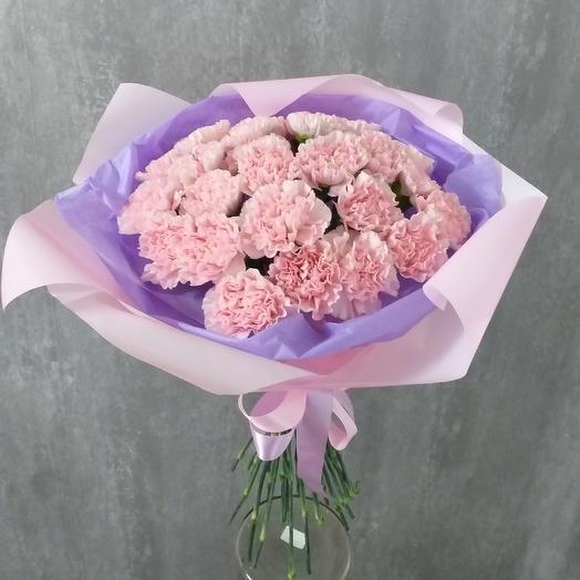 Букет из гвоздик: букеты цветов на заказ Flowwow