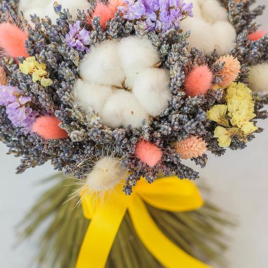 Тройная весенняя хлопушка: букеты цветов на заказ Flowwow