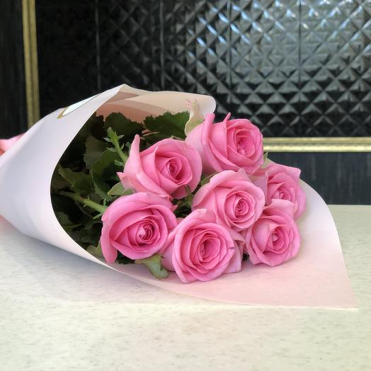Bouquet of 7 roses