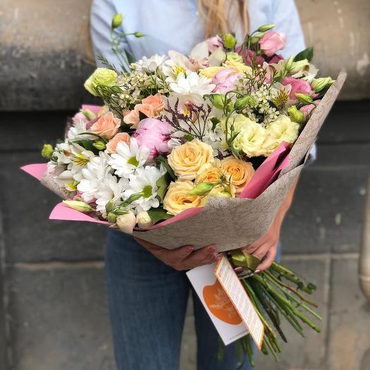 Harmony: flowers to order Flowwow