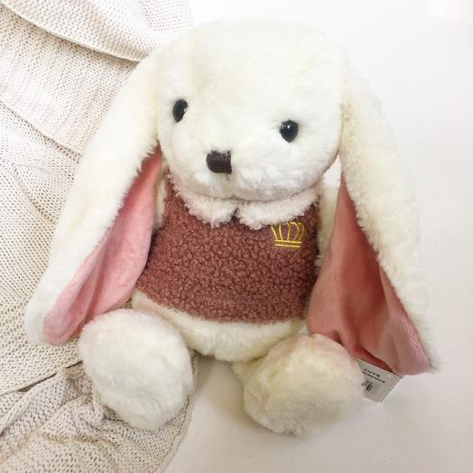 Белый кролик ( заяц): букеты цветов на заказ Flowwow