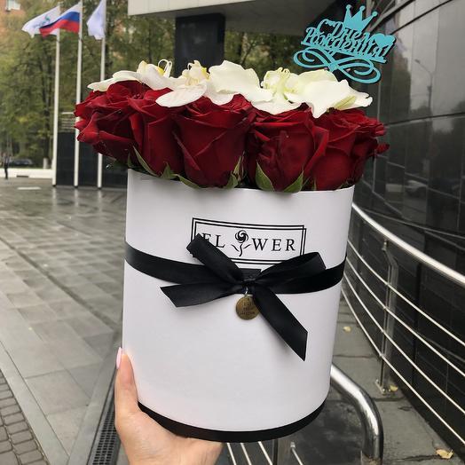 Страстная Любовь ️🌹: букеты цветов на заказ Flowwow