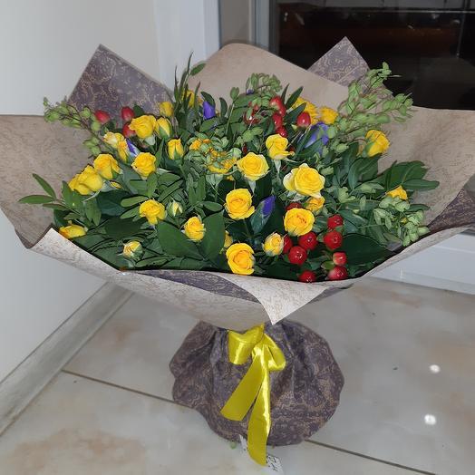 "Букет ""Акварель"": букеты цветов на заказ Flowwow"