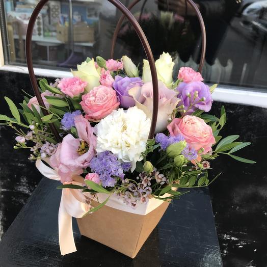 Сумочка счастья 💕: букеты цветов на заказ Flowwow
