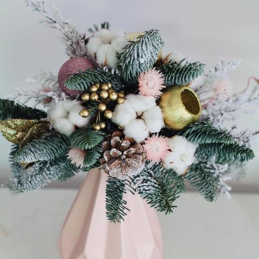Нежность зимы: букеты цветов на заказ Flowwow