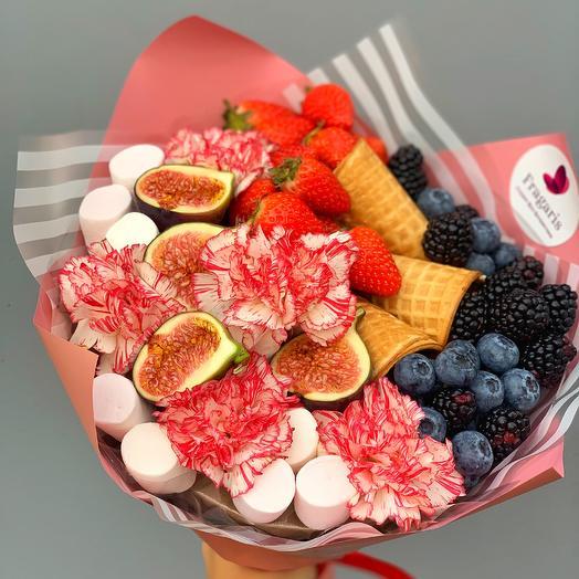 Мороженый букет: букеты цветов на заказ Flowwow