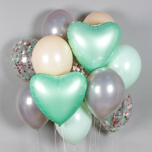 Набор шаров «Сладкая мята»