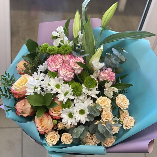 Композиция «тепло вёсны»: букеты цветов на заказ Flowwow