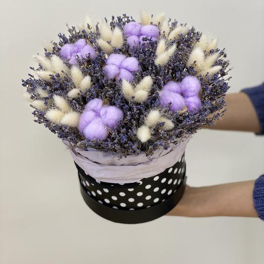 Композиция Горная Лаванда»: букеты цветов на заказ Flowwow