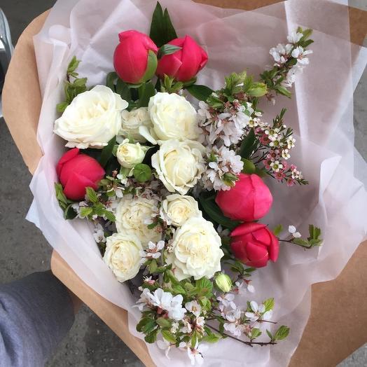 Цветущая сакура: букеты цветов на заказ Flowwow