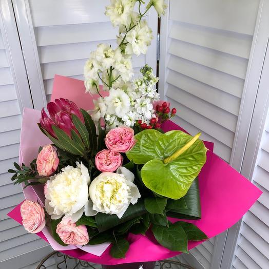 Букет из экзотики: букеты цветов на заказ Flowwow