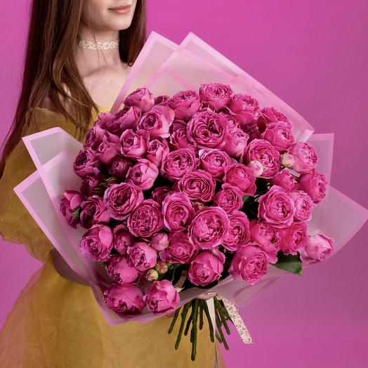 Мисти Баблз: букеты цветов на заказ Flowwow