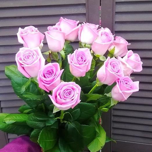 """Букет из розовых роз """"Кокетка"""""""