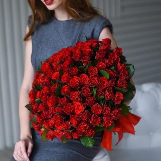 Роза Эль Торо 60 см 101 шт