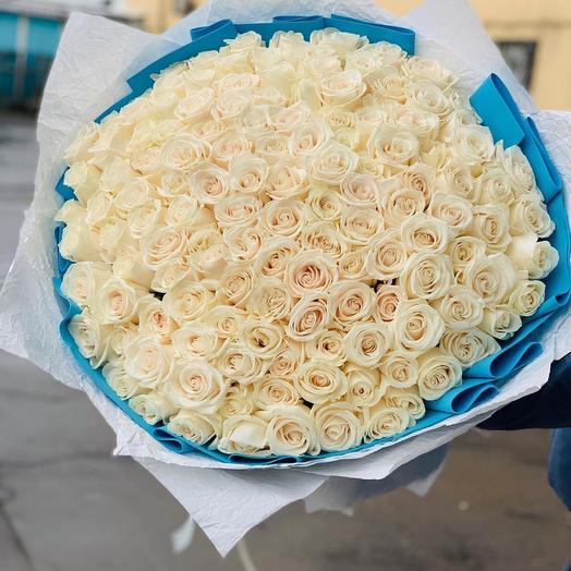 Белые розы вендела