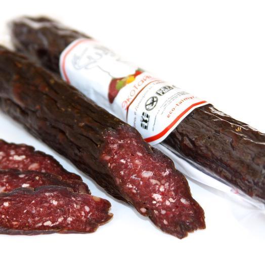 Колбаса из оленины Палермо сырокопченая