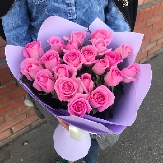 Букет « Розовое настроение»