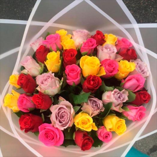 Букет-микс из Кенийских роз