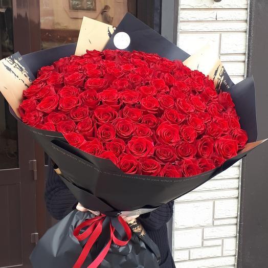 101 высокая российская роза