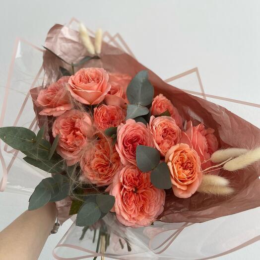 Букетик с сухоцветами
