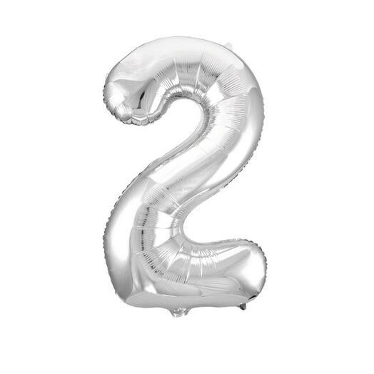 Шар цифра 2