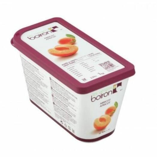 Пюре из абрикоса с сахаром Замороженное ТМ Boiron 1 кг