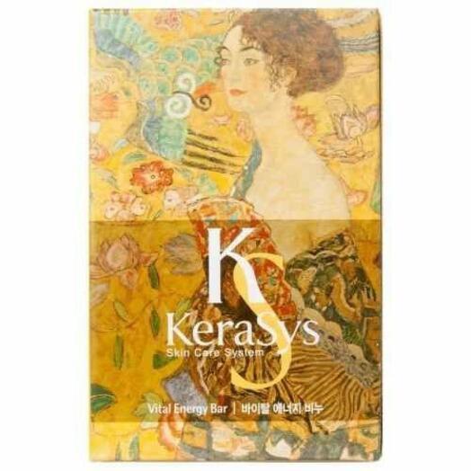 Мыло кусковое KeraSys Vital energy, 100 гр