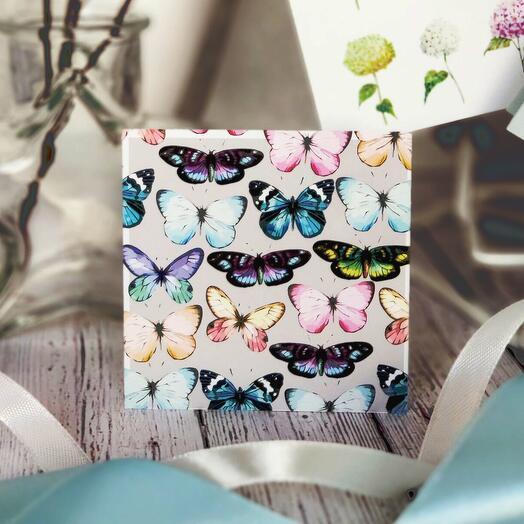 """Открытка мини """"Бабочки"""""""