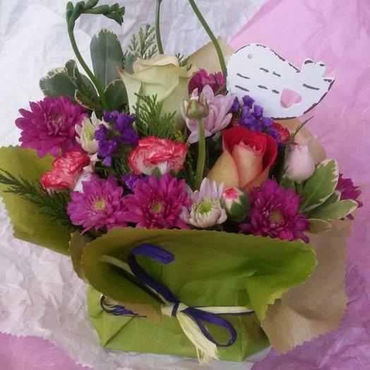 Композиция из цветов Лето: букеты цветов на заказ Flowwow