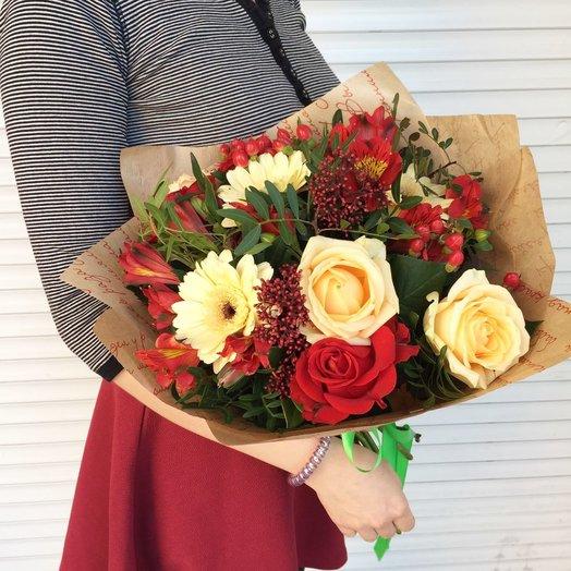 Букет Гармония: букеты цветов на заказ Flowwow