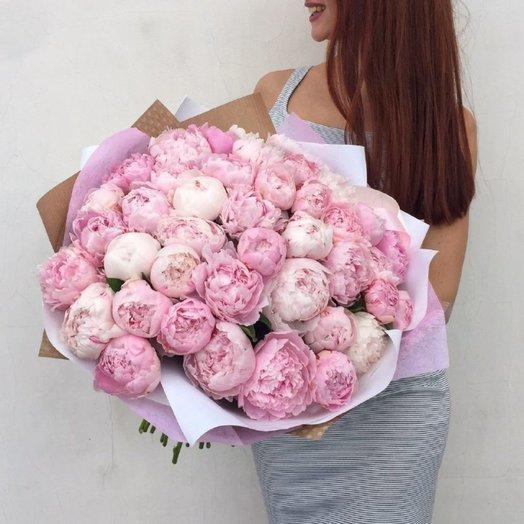 Большой букет пионов: букеты цветов на заказ Flowwow
