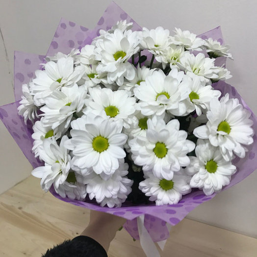 Букет Хризантемка: букеты цветов на заказ Flowwow