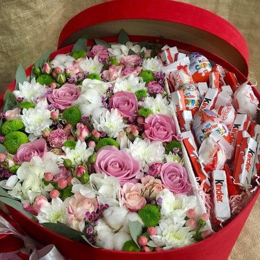 "Коробочка ""Для тебя"": букеты цветов на заказ Flowwow"