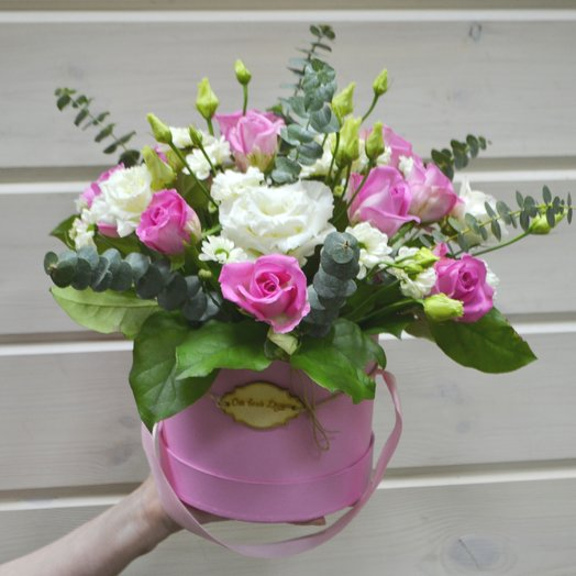 "Бонет ""Аква"": букеты цветов на заказ Flowwow"